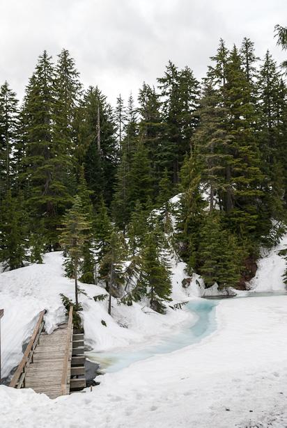 En ook koud weer in Vancouver (Grouse Mountain)