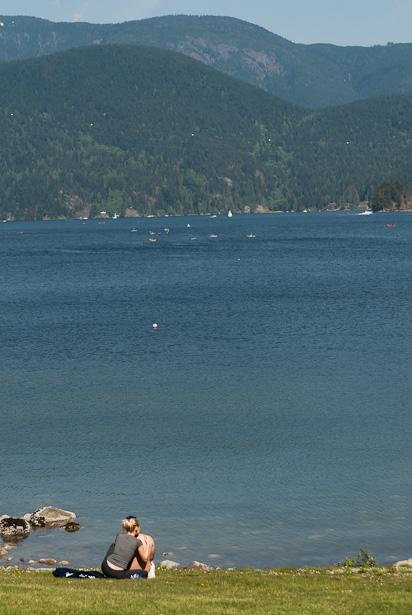 Romantisch plekje in Deep Cove, BC