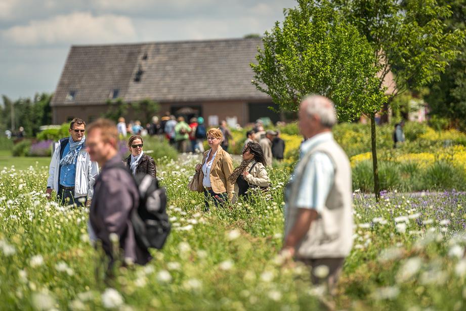 Veel publiek op de Floriade