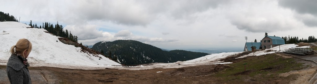 Grouse Mountain, BC panorama photo