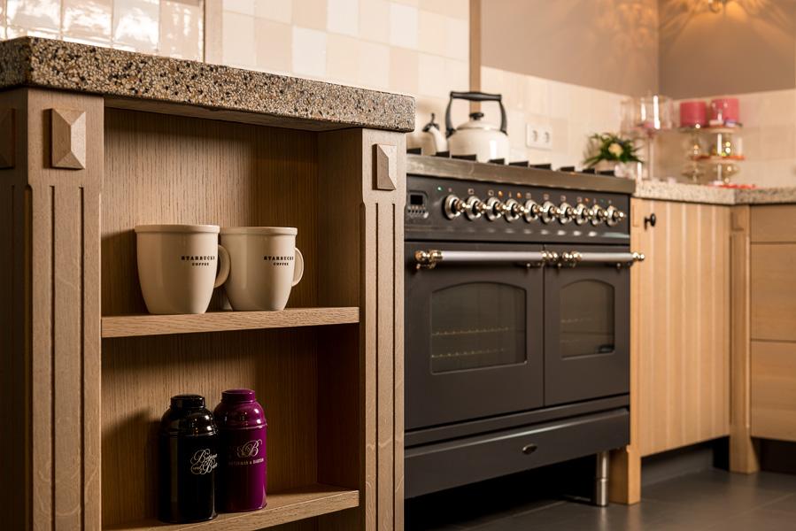 Op maat gemaakte houten keukens