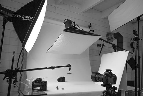 studio lichten bij productfotografie