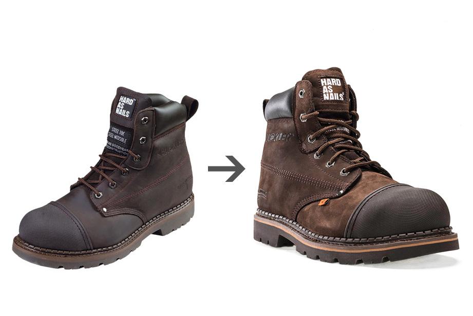 Voor en na bij professionele productfotografie
