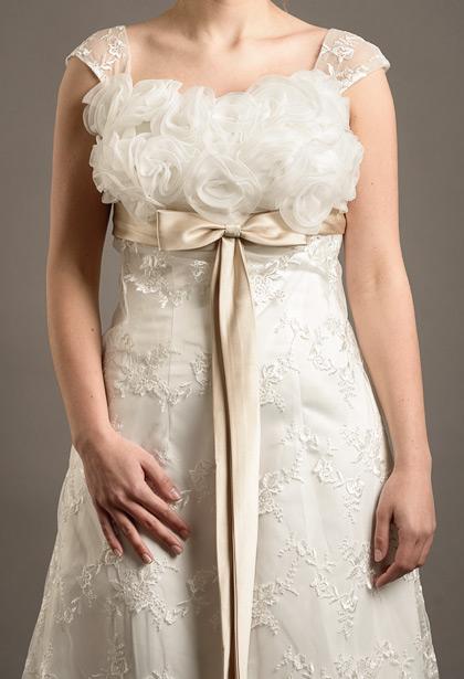 Modefotografie bruidsjurken