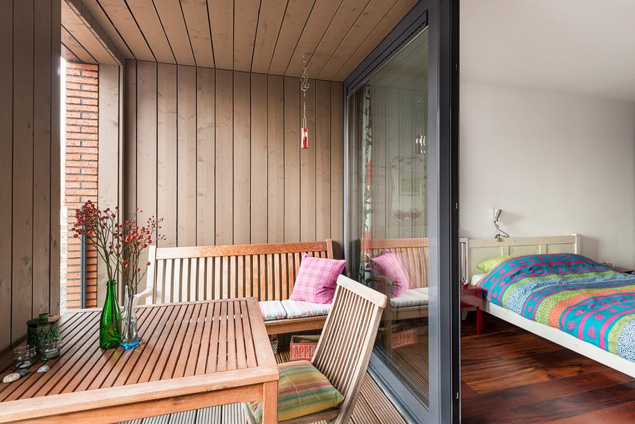 Leuk balkon in Utrecht