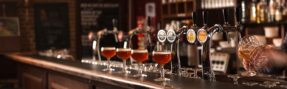 Sfeerfotografie van een bar bij het UMC Radbout