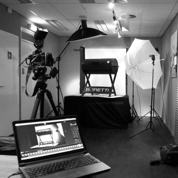 Behind the scenes - fotografie op locatie