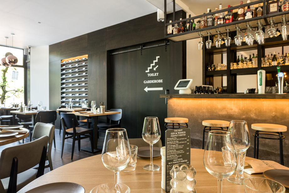 Locatiefotografie in Nijmegen van een restaurant