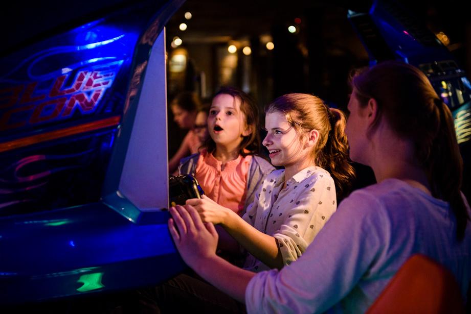 Bedrijfsfotografie Arcade games