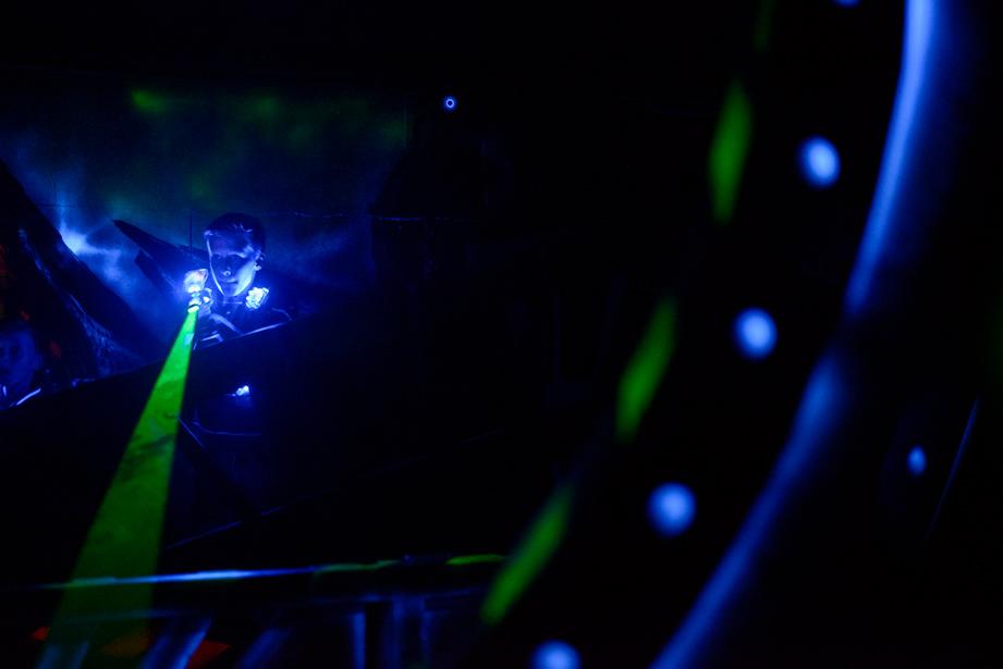 Bedrijfsfotografie Lasergame