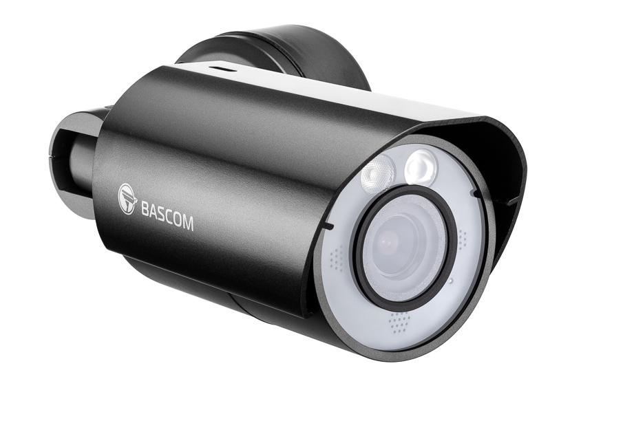 Productfotografie van een beveiligingscamera