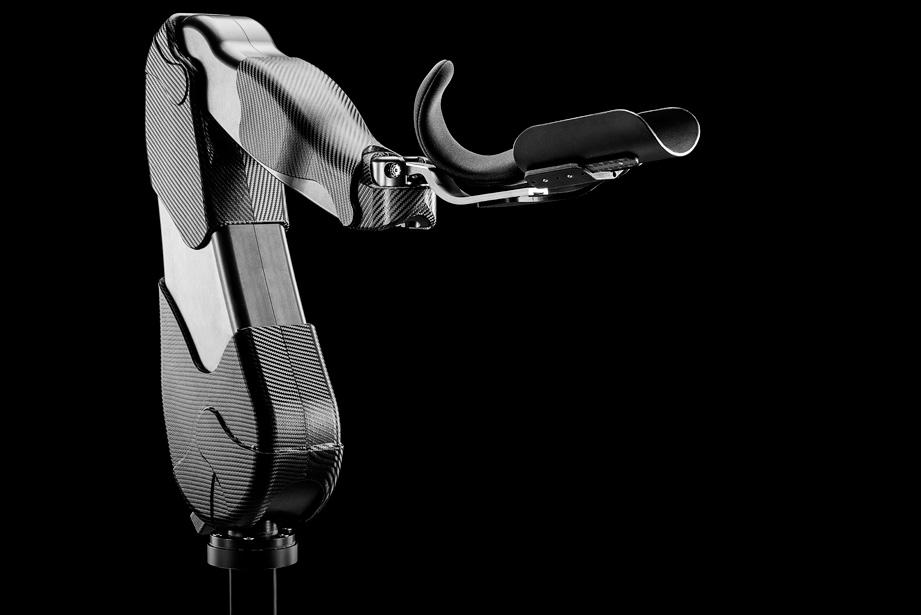 Productfotografie van robot arm