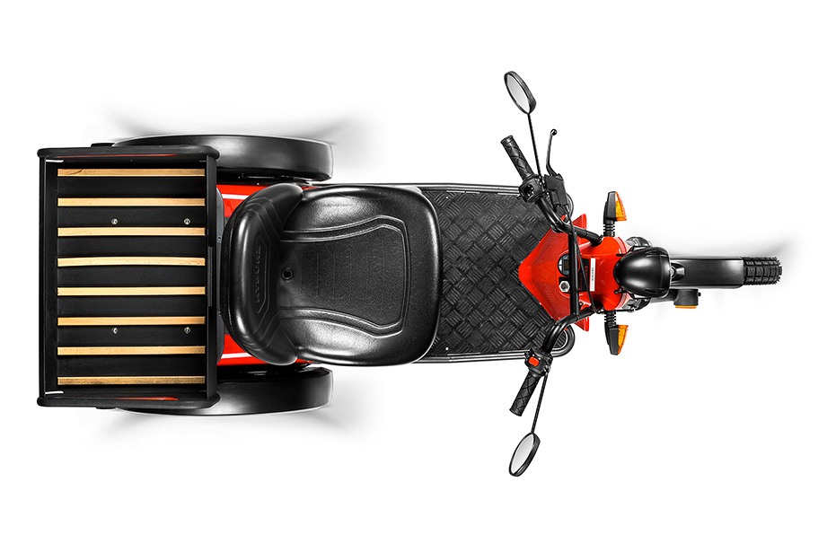 Productfoto's van elektrische scooter